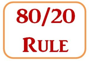 80-20 Rule for 30-60-90-Day Sales Plans