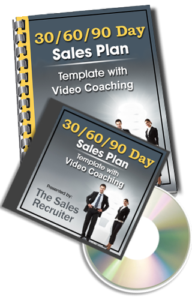 30 60 90 day sales plans for medical sales interviews